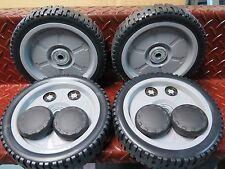 "Honda 19"" lawnmower 4x 8""wheel set suit HRU194 HRU195 and HRU196  ph.0397292692"