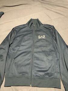 Navy Blue EA7 Emporio Armani Tracksuit