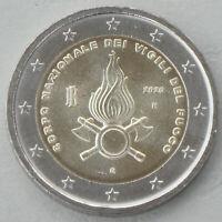 2 Euro Italien 2020 80 Jahre Feuerwehr unz.