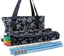 166 Tiles American Mahjong Set Blue Phoenix Soft Bag 4 Color Pushers/Racks Easy