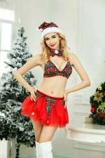 Adult Sexy Elf Costume Ladies Christmas Fancy Dress Womens Xmas Outfit Cosplay
