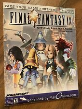 2000 Brady Games FINAL FANTASY IX OFFICIAL STRATEGY GUIDE BOOK Computer Game