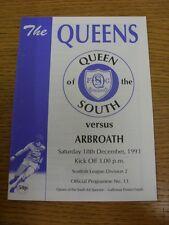 18/12/1993 LA REGINA DEL SUD V Arbroath. grazie per la visualizzazione di questo oggetto, acquistare Wi