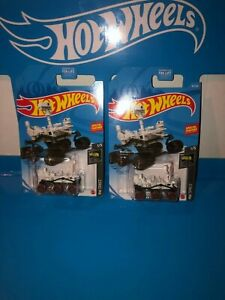 LOT OF (2) MARS PERSEVERANCE ROVER HOT WHEELS,NEW FOR 2021,E CASE,HW SPACE!!!!!!