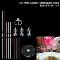 1 Set 7 in 1 Plastic Balloon Accessory Base Table Support Holder Cup Stick Stand