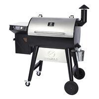 Z GRILLS ZPG-7002F2 8 in 1 BBQ Wood Pellet Grill Smoker w/ Digital Temp Control