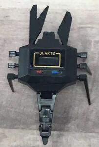 Transformers Watch Scorpia Quartz Robot BLACK Vintage NON-WORKING DISPLAY