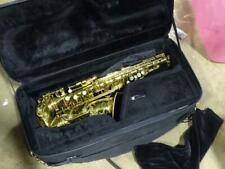 Antique Henri Selmer Paris France Brass Tenor Saxophone #40924 Vtg Professional