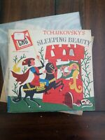 "Tchaikovsky's Sleeping Beauty~Children's Record Guild CRG-202~10""~Disney"