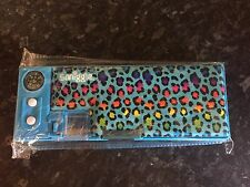 Brand New SMIGGLE Rainbow Leopard Print Pop Out Pencil Case