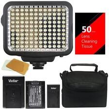 120 LED Video Light 3200/5500K Color Temp for Canon Nikon DSLR Camera Camcorder