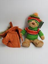 Eddie Bauer Kids Plush Teddy Bear Down Jacket Puffer Sweater Holiday 2005 Doll