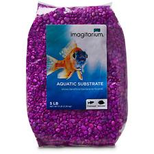 Imagitarium Neon Purple Aquarium Gravel, 5 lbs