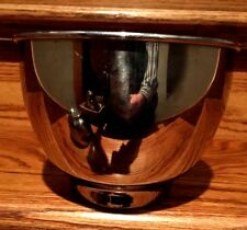 """HAMILTON BEACH STAINLESS STEEL MIXING BOWL SMALL VINTAGE 6"""" SIZE AUTHENTIC"""