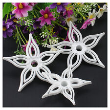 3pcs Floral shape Fondant cutter cook Cookie Cutters cake mold Decorating kit
