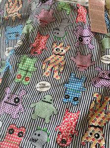BNWT Peter Alexander Monsters Monster Flannelette Pj Pyjama Pants Unisex