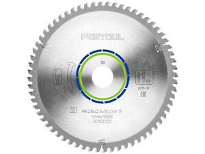 Festool 500122 216x2,3x30 TF64 Mitre Saw 216mm x 2.3mm x 30mm x 64T