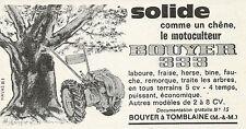 W5264 Motoculteur BOUYER 333 - Pubblicità 1962 - Publicitè