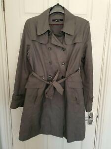 DKNY Grey Trench Coat