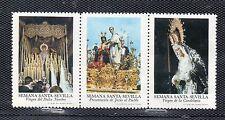 Viñetas con Imagenes de la Semana Santa de Sevilla año 1973 (CV-896)
