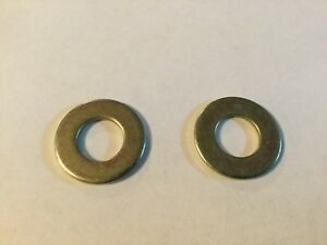 Genuine OEM Toro Flat Washer 3256-24 (Lot of 2)