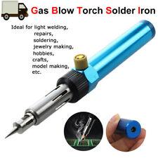 Gas Blow Torch Soldering Solder Iron Refillable Butane Welding Pen Burner Tool