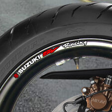 8 x SUZUKI SV RACING WHEEL RIM STICKERS  DECALS SV650 SV 1000 B