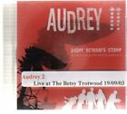 (AV578) Audrey, Paper Scissors Stone - DJ CD