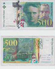 Gertbrolen   500 FRANCS ( Pierre & Marie CURIE ) de 1994 Billet A010393532