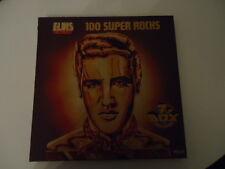 Elvis Presley 100 Super Rocks Ger 1977 7 LP Box Vinyl