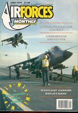 AIR FORCES MONTHLY 4/90 No.25 SAAB RF-35 DRAKEN SWEDEN FINLAND / HMS INVINCIBLE