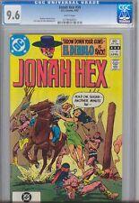 Jonah Hex #59  CGC 9.6  Jonah Hex  1983