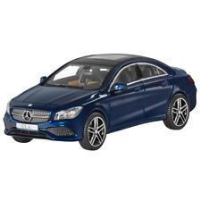 Mercedes-Benz Modellauto 1:43 PKW CLA C117 Coupe blau B66960387