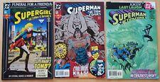 ACTION COMICS -3-Issue Lot - #686, #695, #784  - DC Comics - Superman, Supergirl