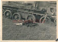 Foto, Wertegang Sdt. der Inf., Ostfront, Sturm auf russ. Beutepanzer; 5026-363