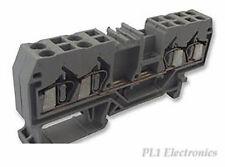 WAGO   280-833   TERMINAL BLOCK, DIN RAIL, 4POS, 12AWG