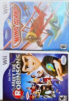 TWO Wii Games NIB Wing island AND  Meet The Robinsons for Wii