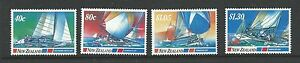 1987 Yachting Events  set of 4 Complete MUH/MNH as Issued
