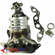 Exhaust Manifold For Honda Civic 1.7L 4 Cylinder SOHC W/ Catalytic Converter New