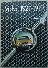 VOLVO THE HISTORY Publicity Brochure 1927 to 1979