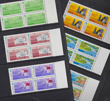 Azores Portugal 1980 Mint MNH Full Set Blocks of 4 World Tourism Conference