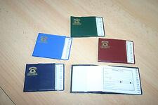 2 kleineTaschen Telefonbücher grün+blau 80mm x 60mm Adressbuch Telefonbuch