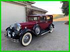 1931 Packard 826 Classic 4 Door Sedan 1931 Packard 826 Classic 5.2L 4 Speed Manual Clear Title