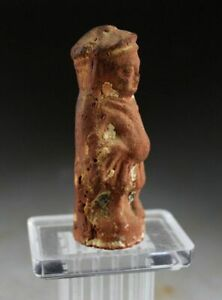 *SC*  TERRACOTTA FIGURE OF GODESS, EGYPT, ROMAN PERIOD, 100. BC- 100 AD