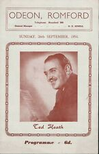 Ted Heath & his Music, 1954   Romford Odeon  Dennis Lotis,  Don Lusher    JX2098
