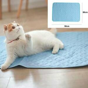 Self Cooling Gel Mat new Dog Cat Pet Self Cool Pillow Hot Weather Large Bed Pads