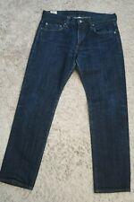 "# Mens Jeans size 31 x 30 J. Crew 484 Slim Fit blue denim faded male (28"" inseam"