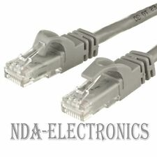 CAT6 Ethernet Cable LAN Network Patch Cord For Router Wire Lot Cat 6 GRAY 1.5 FT