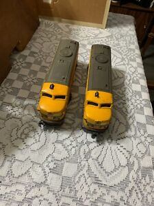 2023 yellow aa alco diesels engine and dummy 0-27