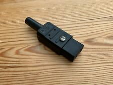 More details for iec c9 mains connector korg sg1d dss-1 re-wireable, open-able